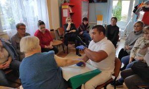 Zebranie zespołu terapeutyczno-opiekuńczego